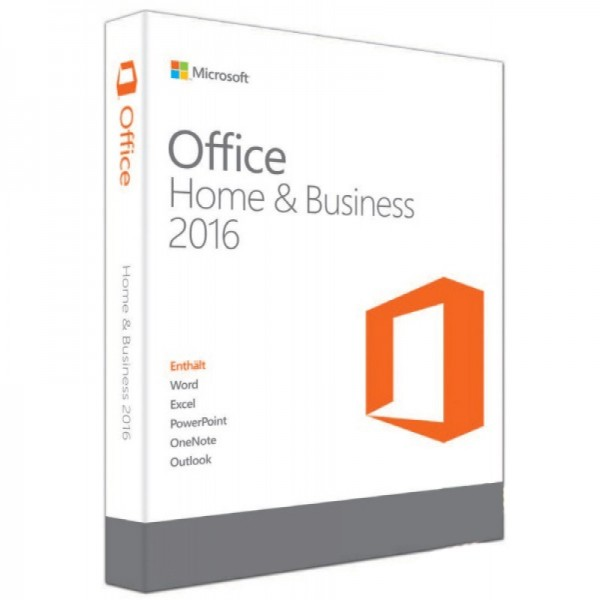 MICROSOFT OFFICE HOME AND BUSINESS 2016 32 BIT/x64 English APAC EM DVD