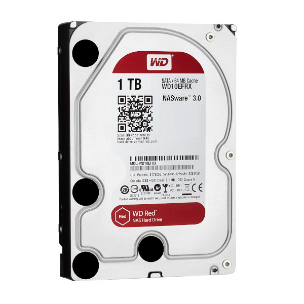 Ổ cứng WD 1TB Red WD10EFRX SATA3 5400rpm