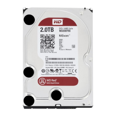 Ổ CỨNG WD 2TB RED WD20EFRX SATA3 5400RPM