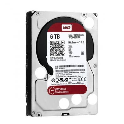 Ổ cứng HDD WD Red 6TB SATA 3 - WD60EFRX