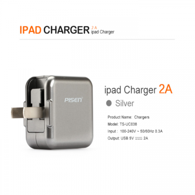 Sạc Pisen iPad Charger 2A (For All MobilePhone/Tablet )