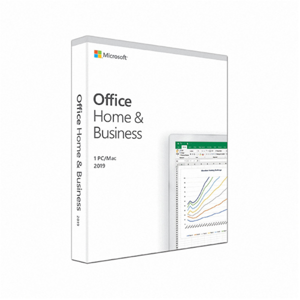 Phần mềm Microsoft Office Home and Business 2019 English APAC EM Medialess_T5D-03249