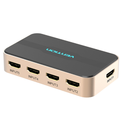 Bộ gộp HDMI Vention 5in 1out